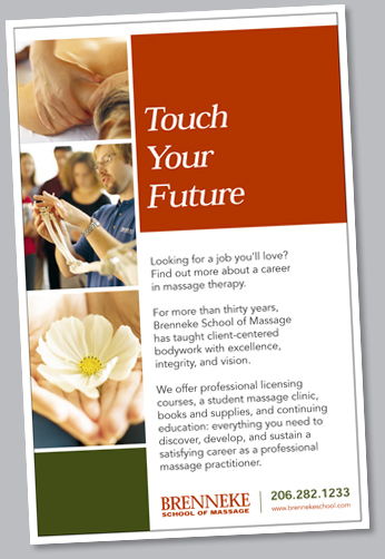 Brennke School of Massage poster