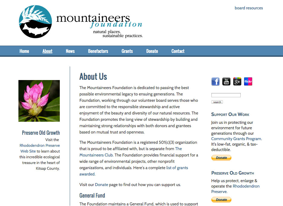 Mountaineers Foundation