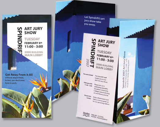 Spindrift Art Jury Show invitations