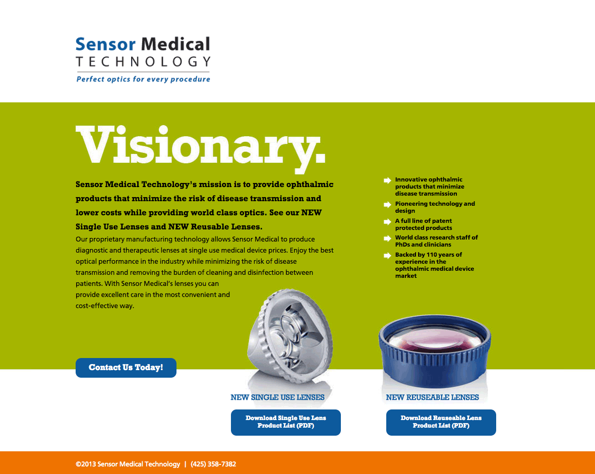 Sensor Medical Technology